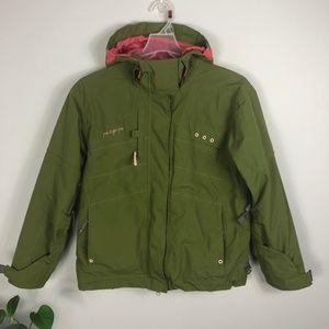 686 Green Snowboarding Jacket Smarty Size Medium